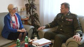 Víc vojáků i kvalitní boty: Šlechtová představila svoje plány s ministerstvem obrany