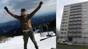 Brutální vražda ve Frýdku-Místku: Vysokoškolák zabil vlastní mámu, zavřeli ho na psychiatrii