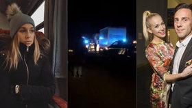 Partnerka Vojtka Vraspírová: Cestu jí zkomplikovala tragická nehoda! Modlete se, prosila na sítích. Bylo to marné
