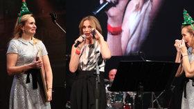 Vánoční koncert Absolonové: Monika pro slzy neviděla, rozplakala i Chýlkovou!