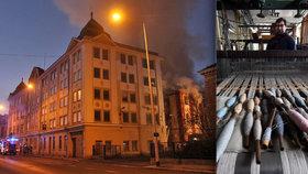 Muzeum textilu ve vyhořelé textilce Karnola bude: Město chce požádat o pomoc Krnovany