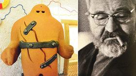 Oživlý golem a kouzelné sluchátko, které vypráví vtipy: Werichova vila ukazuje svět legendárního herce