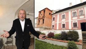 Nečekaný tah Kodeta v boji se sousedem: Chátrající dům chce koupit!