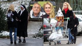 Stav režiséra Jiřího Menzela (79) je vážný: Žena Olga se sešla s jeptiškami