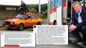 Zemřela legenda pražské MHD: Je to tragédie! Kolegové smrt dispečera Honzy (†48) nechápou. Pro rodinu dělají sbírku