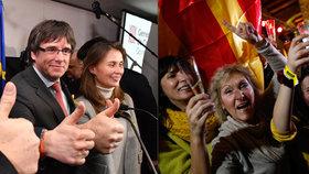 """""""Španělsko je poraženo!"""" Expremiér Katalánska slaví v Bruselu. A žádá záruky pro návrat"""