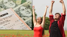 V Česku je na 350 nových milionářů. Výhry v loterii tají i před rodinou