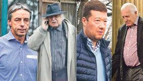 Předvánoční besídka pražské smetánky: Klaus, Bém i Okamura slavili v Erpetu