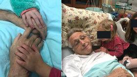 Víra, naděje, láska! Dojemný vzkaz Olgy Menzelové od nemocničního lůžka