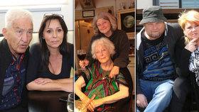 Letos jim zemřeli jejich nejbližší: Jak strávily Vánoce vdova po legendárním herci nebo dcera slavné herečky?