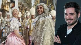 Vojta Kotek ve filmu Marie Terezie: Potil se kvůli chlupům z buvola!