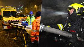 Silvestr v Praze: Záchranáři a hasiči jsou na oslavy připravení