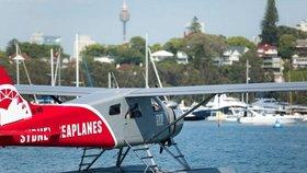 Silvestrovská tragédie u Sydney: Po nehodě hydroplánu šest mrtvých
