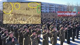 """Hladovějící vojáci kradou lidem pšenici, """"nájezdy"""" na pole jim povolila KLDR"""