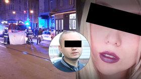 Kdo je kráska (†27), kterou v Praze zabil opilý Rus? Mluvila 4 jazyky a v Itálii studovala design