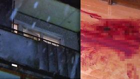 Novoroční pitka se změnila v horor: Opilec uřízl kamarádovi hlavu a hodil ji z balkonu na ulici