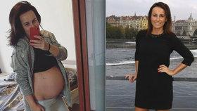 Šilhánová těsně před porodem: Jsem unavená, ufuněná a oteklá!