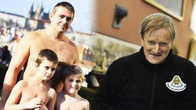 Nadšeně se vrhli do Vltavy: Nejstarší a nejmladší otužilec sdíleli své pocity z plavby