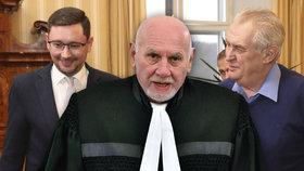 Zeman, Klaus i Havel chtěli přikyvovače, míní Rychetský. Ovčáček by prý zasloužil padáka