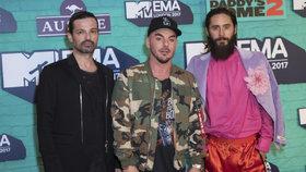 Thirty Seconds To Mars se po 5 letech vrací do Česka: Rozpálí Tipsport arenu v Praze