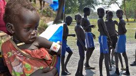 """""""Umíráme hlady."""" Statisíce lidí jsou v nejmladším státě světa bez jídla"""