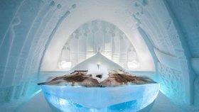 Ledový hotel poprvé vydrží celý rok! Podívejte se na neuvěřitelnou výzdobu