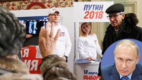 Za nejlepší selfie od voleb iPhone. Účast má posílit lákadlo z Kremlu