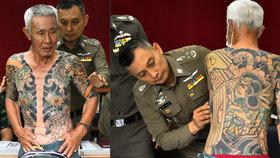 Policie dopadla mafiánského bosse. Identifikovala ho podle tetování