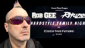 Legenda hardcoru Rob Gee vystoupí v Praze. Zahraje na Hardstyle Family Night part 3 vs. Czech This Future
