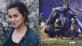 Herečka jela v autobusu smrti: Milý řidič už není mezi námi! Zavinila nehodu 22letá řidička?