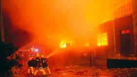 V elektrárně Chvaletice vypukl požár. Škoda se vyšplhala na 50 milionů!