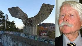Zemřel sochař Josef Klimeš (†89). Vytvořil plastiky u Barrandovského mostu