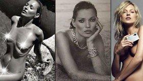 Topmodelka Kate Moss slaví 44! Fotila se víc nahá než oblečená?