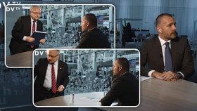 Senátor Veleba neustál otázky na peníze pro Zemana. Odešel během natáčení