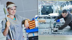 V Česku chybí tisíce dělníků, řidičů, kuchařů i uklízeček. A kdo další?