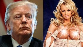 Pornohvězda Stormy Daniels zažalovala Trumpa! Nelichotivě se o ní vyjadřoval