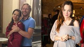 """Těhotná """"druhá"""" manželka Karla Janečka: Kamarádka práskla, co neměla!"""