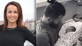 Moderátorka Lucie Šilhánová (36) už má dcerku doma. Občas ji hlídá pes, vtipkovala