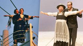 Zapomeňte na DiCapria s Kate Winslet! Titanic teď ovládli Mirek Vladyka a Filip Blažek