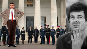 Syn Rowana Atkinsona (63) se setkal s francouzským prezidentem: Mr. Bean jr. u Macrona!