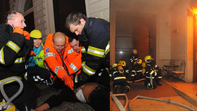 Tragický požár hotelu v centru Prahy: Zavinil ho neznámý člověk! Co dalšího ukázaly výsledky šetření?