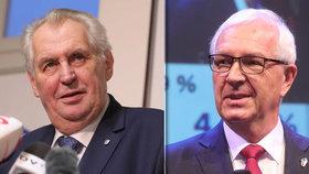 Zeman versus Drahoš: Jak hradní adepty dělí Babiš, Kajínek a migranti?