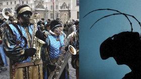 Týden v Praze zdarma: Proměňte se v brouka a užijte si karnevalový průvod s živou hudbou