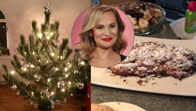 Absolonová si v půlce ledna udělala další Vánoce! Nezbláznila jsem se, dušuje se