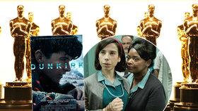 Ceny Akademie Oscar 2018 - nominace, filmy a výsledky online