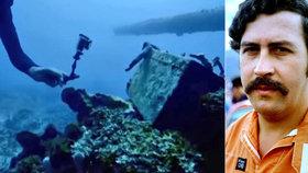 Potápěči CIA našli ponorku narkobarona Escobara: Pašoval v ní drogy