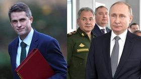 Rusko je připravené napadnout Británii, říká ministr a varuje: Útok neustojíme