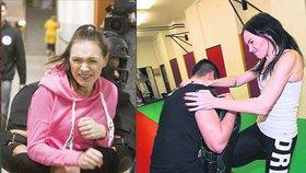 Strach z přepadení? Kamila Nývltová skolila o hlavu větší borce!