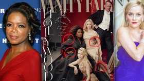 Výroční hollywoodský speciál Vanity Fair: Oprah a Reese mají o končetinu navíc!