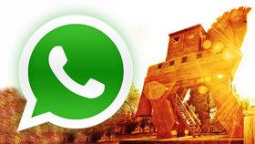 Umíme rozšifrovat a sledovat WhatsApp, hlásí německá policie